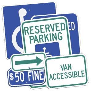 Handicap & Parking Signs