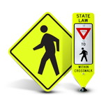 Pedestrian Traffic Signs