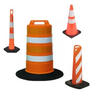 Traffic Cones, Posts & Barrels