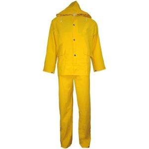 3 Piece Industrial Yellow Rainsuit