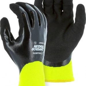 Majestic Penguin Nitrile Waterproof w/ Thermal Liner Gloves