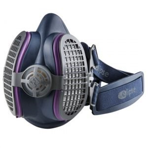GVS SPR451 Elipse P100 Half Mask Respirator, Small/Medium