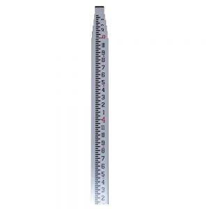 CST/Berger 06-916C Fiberglass 16-Foot Measuring Rod - Inches