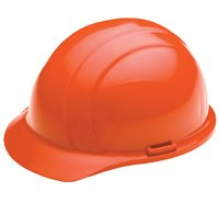 ERB Hi Vis Orange Americana Rachet Hard Hat