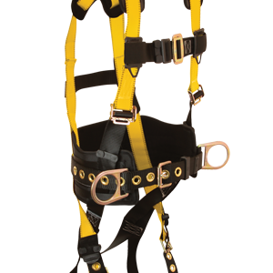 FallTech Journeyman Belted Full Body Harness