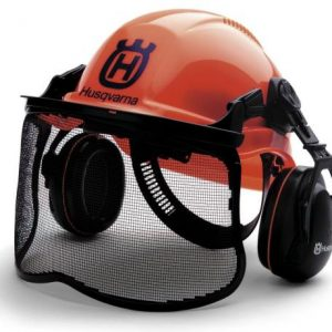 Husqvarna Pro Forest Helmet System with Visor/Hearing Protection