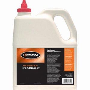 Keson ProChalk Marking Chalk Refill 5 lbs - Yellow