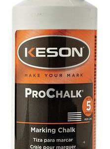 Keson ProChalk Marking Chalk Refill 8 oz - Orange