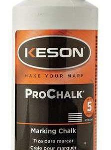 Keson ProChalk Marking Chalk Refill 8 oz - Red