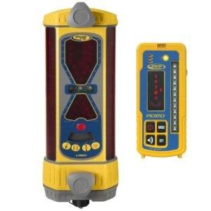 Spectra LR60W Wireless Machine Control Laser Detector w/ Wireless RD20 Remote Display