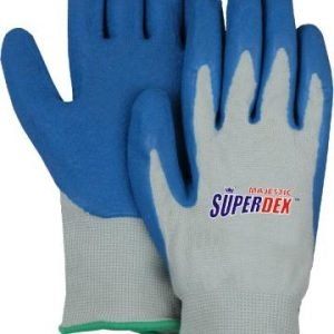 SuperDex Nylon Gloves w/Rubber Coated Palm