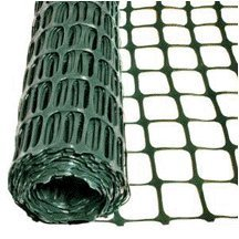 "Green Square Mesh Barrier Fence 50"" Roll"
