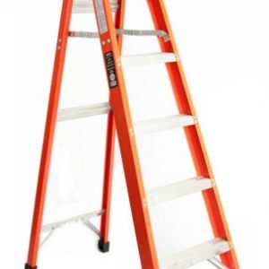 Michigan Ladder 371712 Heavy Duty 12 ft. Fiberglass Step Ladder