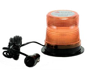 Microburst Amber LED Quad Flash Strobe Warning Light