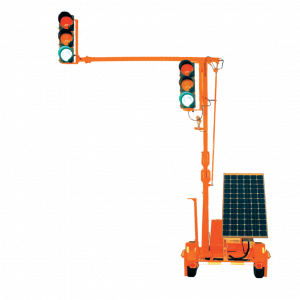 OMJC Portable LD Pop-Up Traffic Signal