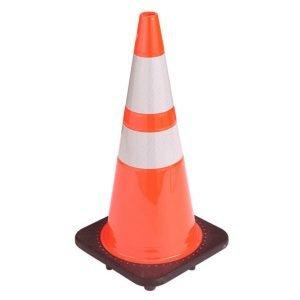 "Striped Traffic Cone 28"""
