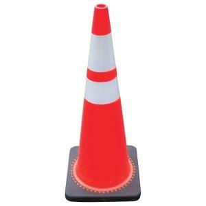 "Striped Traffic Cone 36"""