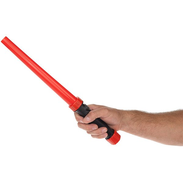 Traffic Safety Personal Safety Baton Wand - Red