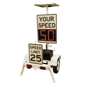 Trafficalm TC Mini Speed Display Trailer