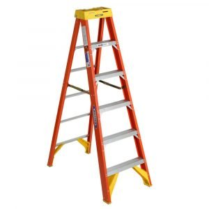 Werner 6206 6 ft Type IA Fiberglass Step Ladder