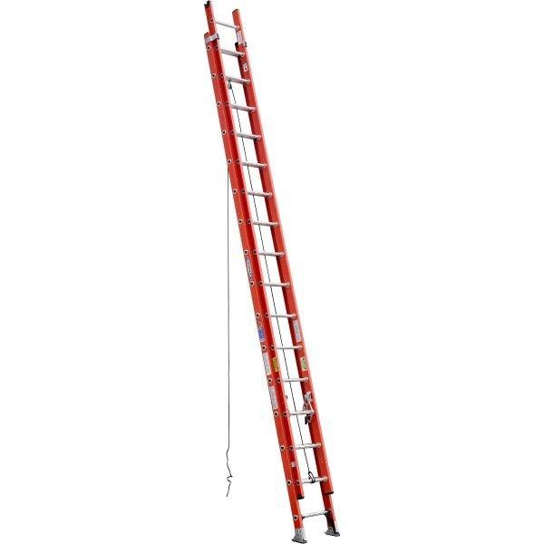 Werner D6232-2 32 ft Type IA Fiberglass D-Rung Extension Ladder