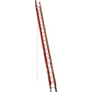 Werner D6240-2 40 ft Type IA Fiberglass D-Rung Extension Ladder