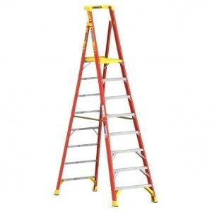 Werner PD6208 Fiberglass 8' Podium Ladder