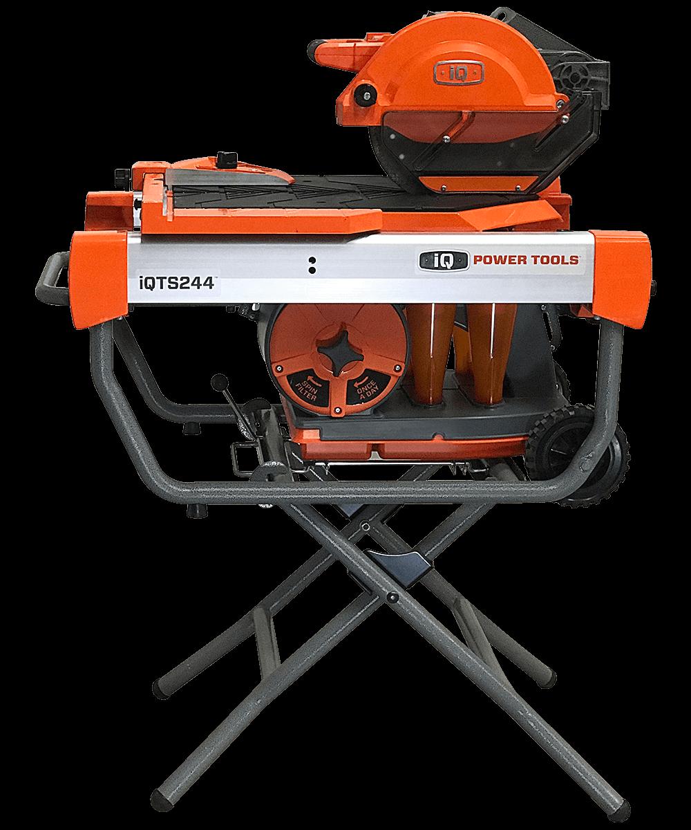 iq power tools iqts244 10 inch dry cut tile saw w stand
