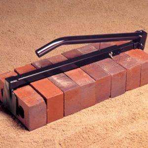 Heavy Duty Black Brick Tongs