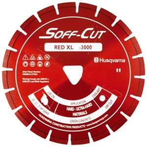 Husqvarna XL6-3000 Red 6''  X .100 Early Entry Soff-Cut Blade