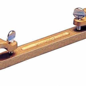 """Kraft 3/4"""" Bronze Bull Float Groover Attachment"""