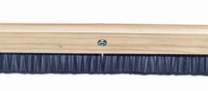 "Kraft 36"" Wood Horsehair Broom"