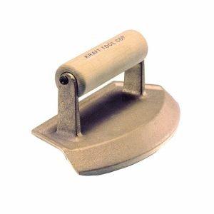 """Kraft Tool 12"""" Dia Chamfer Tube Bronze Edger"""