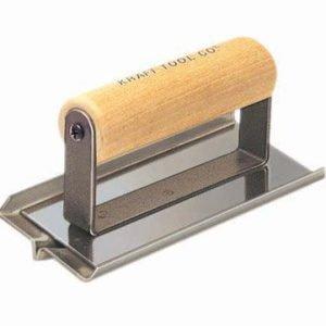 "Kraft Tool 6""x3"" 1/2"" Depth Universal Hand Groover w/Wood Handle"