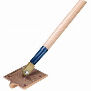 "Kraft Tool 6""x4-1/2"" Bronze Walking Groover 1""x1/2"" Bit w/o Handle"