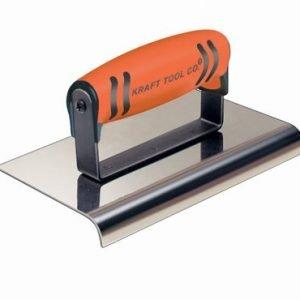 "Kraft Tool 6""x3-1/2"" (3/8"") Radius Cement Edger w/ProForm Handle"