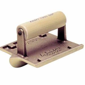 """Kraft Tool 6""""x4"""" Deep Bit Bronze Groover w/Wood Handle"""