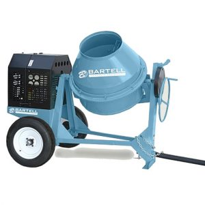 Bartell 7.5 Cu. Ft. Gas Powered Concrete Mixer