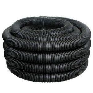 Baughman Single Wall Non-Perforated Underdrain Coil Pipe