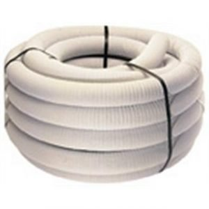 Baughman Single Wall Perforated Underdrain Coil Pipe w/ Filter Sock