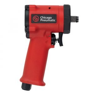 Chicago Pneumatic 1/2 Inch Drive Stubby Metal Air Impact Wrench - CP7732