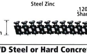 """Dewalt DCN8910500 Cordless Concrete Nailer PIN 1/2"""" x .120"""""""