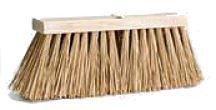 "DQB Street Broom - 16"" Natural Palmyra Stalks"