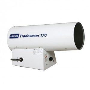 LB White Tradesman 170 Forced Air Portable Propane Heater