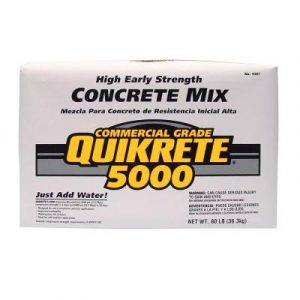 QUIKRETE 5000 Concrete Mix - 80 lbs