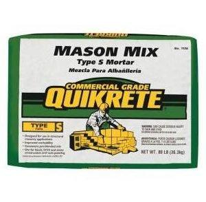 QUIKRETE Type S Mason Mix - 80 lbs