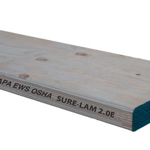"2.0E Sure-Lam LVL Scaffold Plank - 1.50"" x 9.25"" x 16' (50 PCS)"