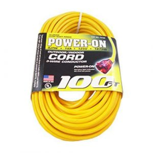 Contractor 12 Gauge Outdoor Extension Cord 100 ft.