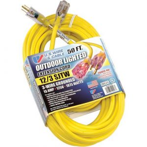 Contractor 12 Gauge Outdoor Extension Cord 50 ft.