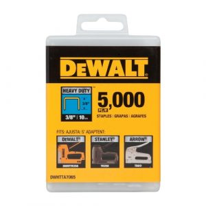 "Dewalt 3/8"" Heavy Duty Staples 5000 ct. - DWHTTA7065"